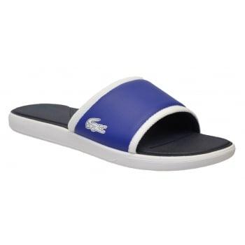 Lacoste L30 Slide 317 1 CAM Dark Blue (N36) 7-34CAM0036 120 Mens Sandal