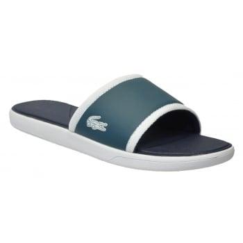 Lacoste L30 Slide 317 1 CAM Dark Green (B17) 7-34CAM0036 177 Mens Sandal