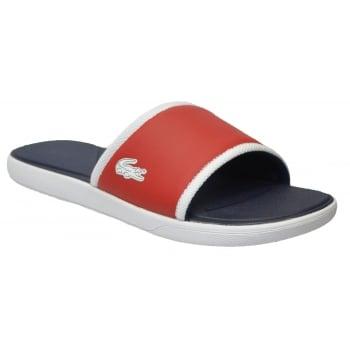 Lacoste Lacoste L30 Slide 317 1 CAM Red (N53) 7-34CAM0036 047 Mens Sandal
