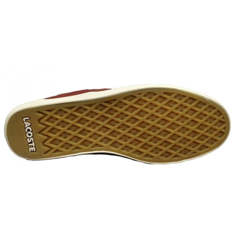 edbad2771b7a9 ... Lacoste Andover Mid CLL Spm Dk Red   Dk Blu (F6) Mens Midi Boots. ‹