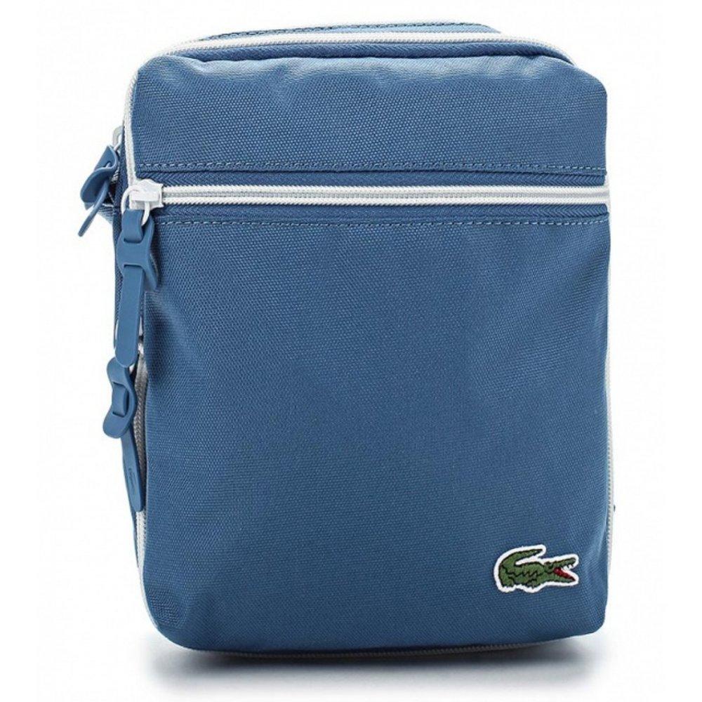 69d4f79d35 Lacoste Lacoste Backcroc (CAB-3) Moonlight Blue Man Bag - Lacoste ...