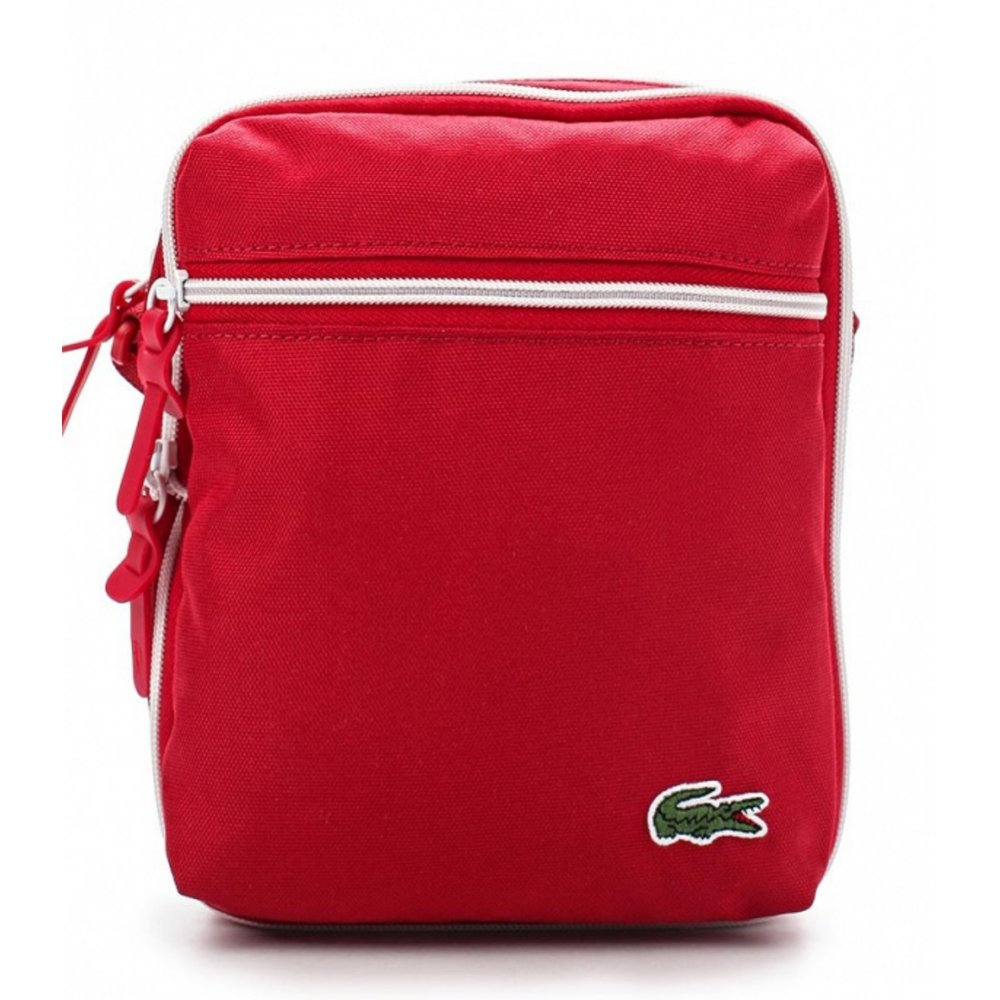 8a3fe24d0340 Lacoste Lacoste Backcroc (LBox-1) Tango Red Man Bag - Lacoste from ...