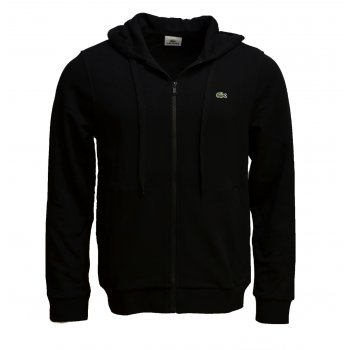 Lacoste Black Hooded SH3206-031 (B28) Mens Sweatshirt