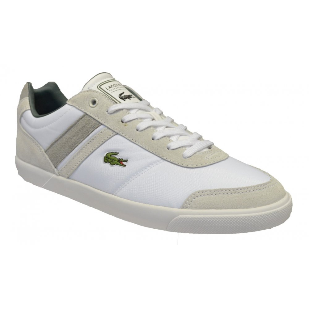 Lacoste Comba Put SPM White / White (N38) Mens Trainers ...
