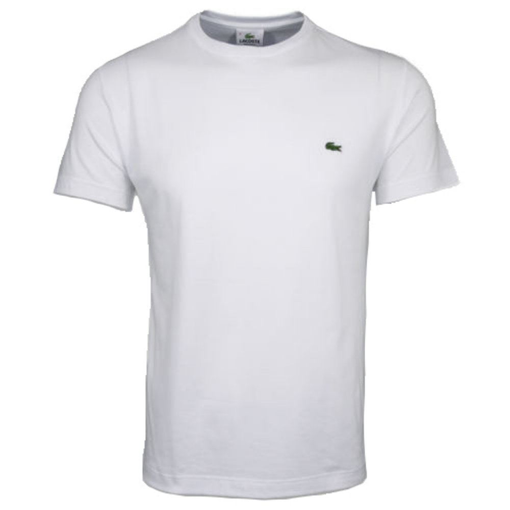 lacoste lacoste crew neck th2038 001 blanc a7 mens short sleeve t shirt lacoste from pure. Black Bedroom Furniture Sets. Home Design Ideas