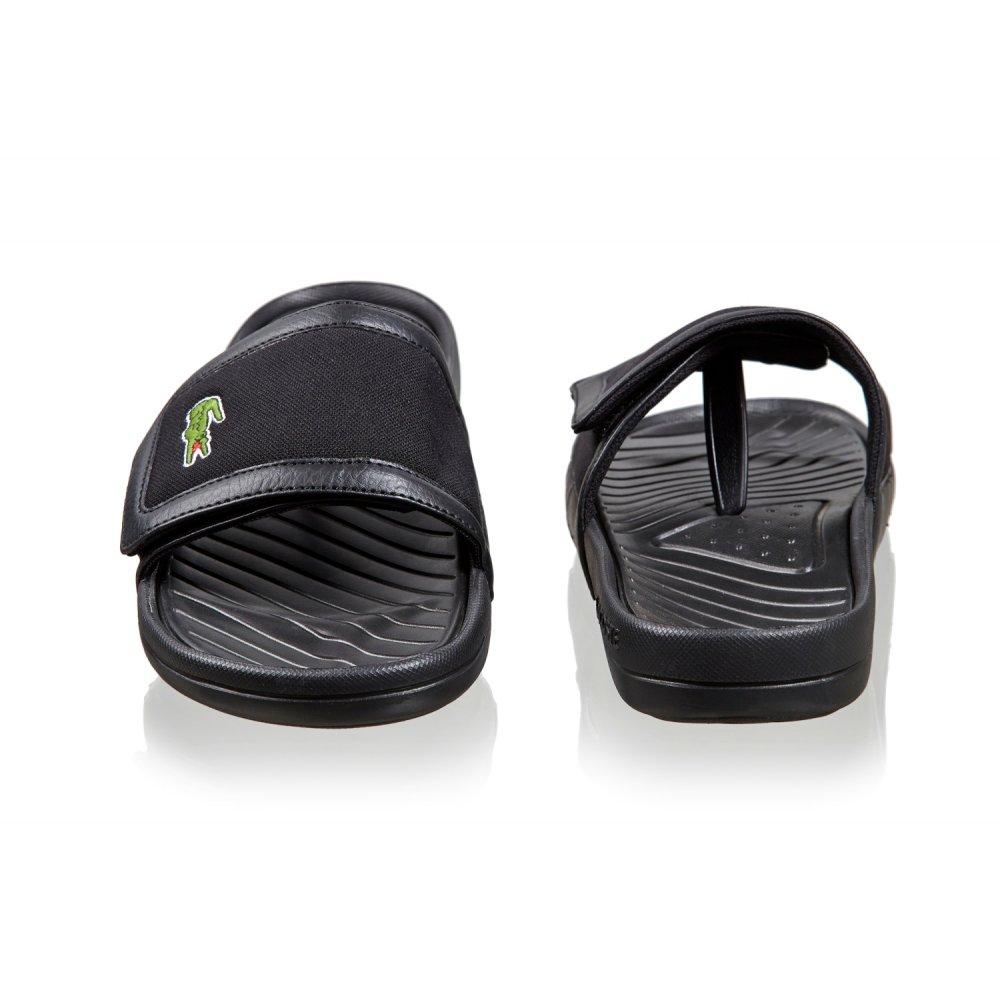 fea1e54ec970 Lacoste Lacoste Fynton USM SPM Black (B24) Mens Sandal - Lacoste ...