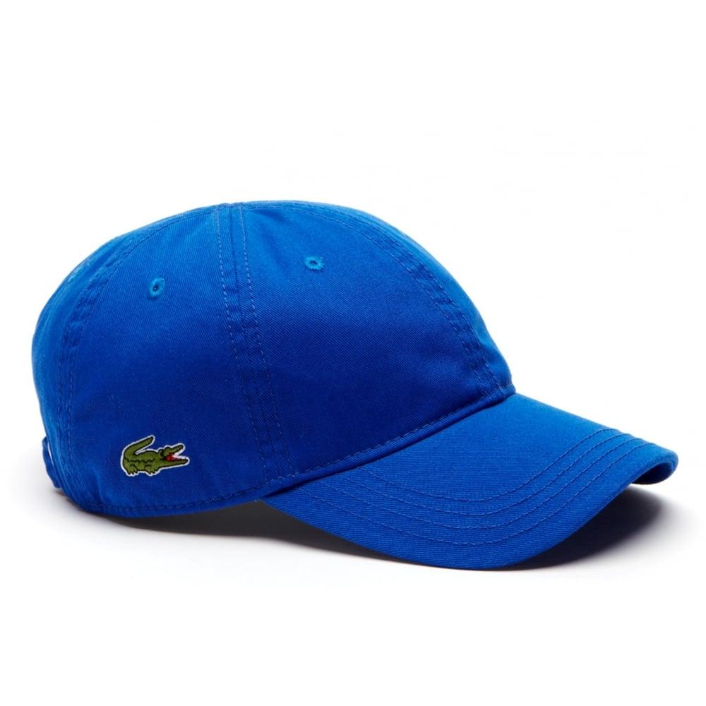 1cb4e9ee997 Lacoste Lacoste Gabardine Blue   Delta (CAB-2) RK9811-5MC Mens Caps ...