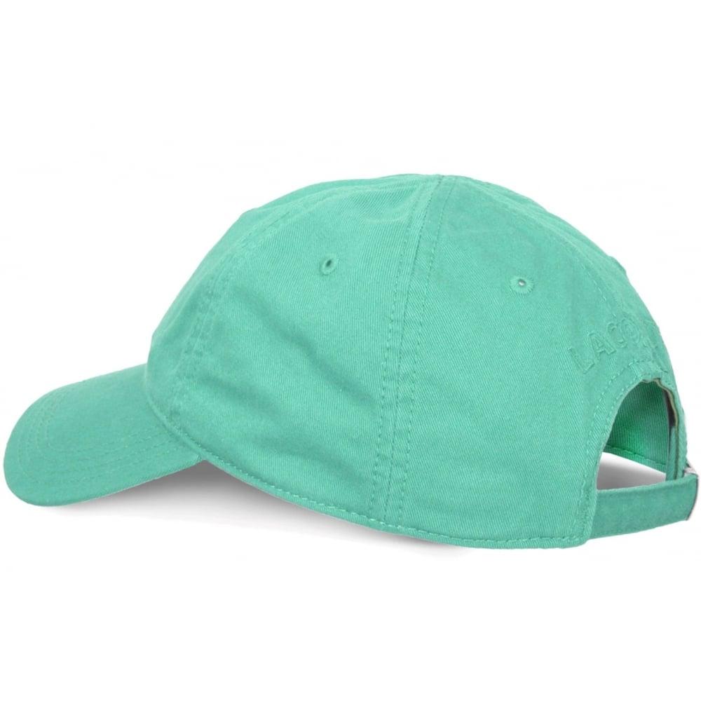 8eb92041350e2 ... Lacoste Gabardine Mint Green   Galapagos RK9811-CCV (CAB-3) Mens Caps. ‹