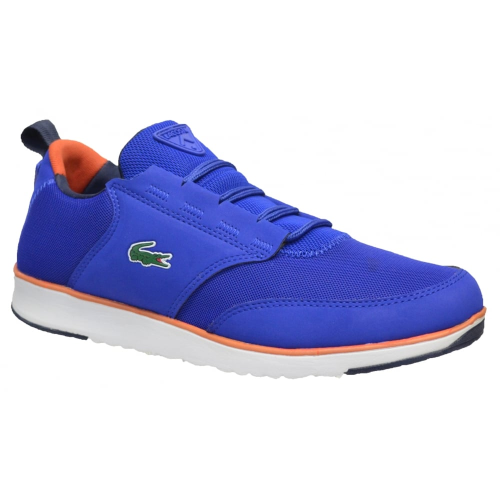 53f776252 Lacoste Lacoste Light 116 1 SPM Blue (N51b) Mens Trainers All Sizes ...
