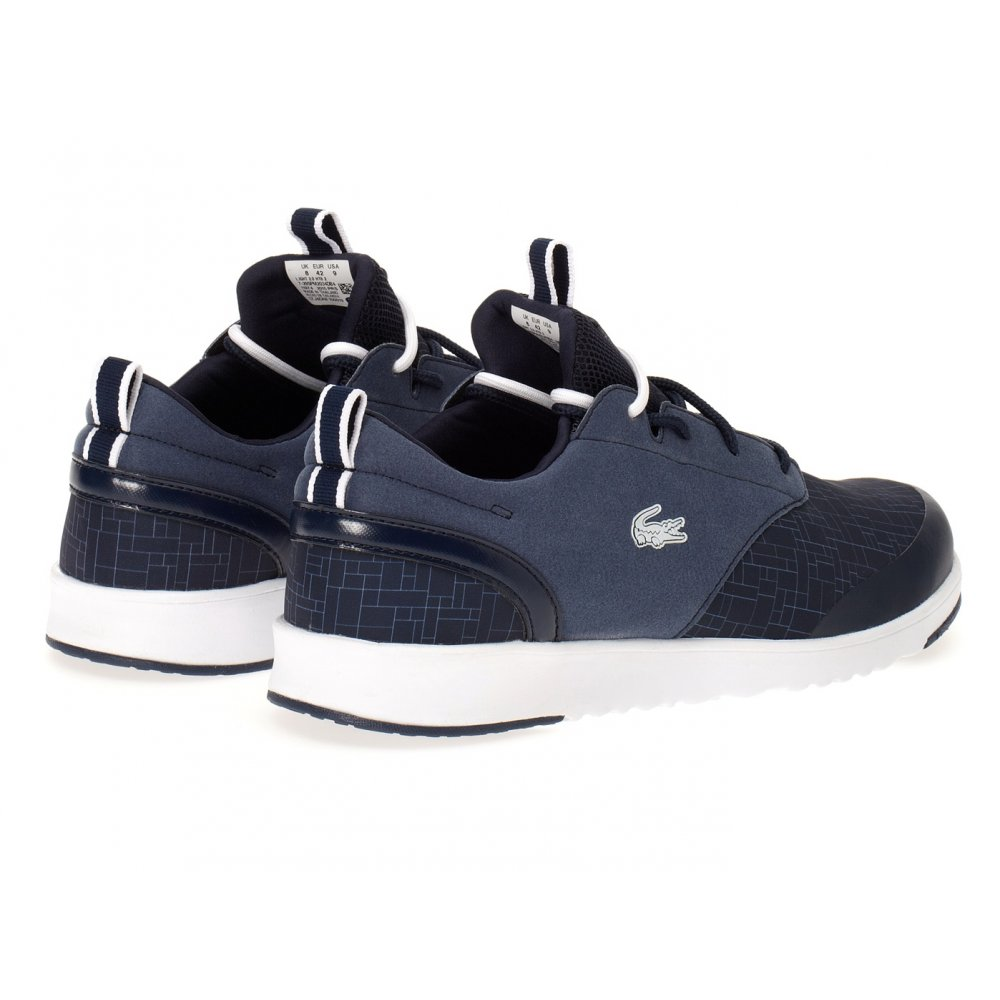 ... Lacoste Light 2.0 HTB2 SPM Dark Blue (SC4) Mens Trainers ...