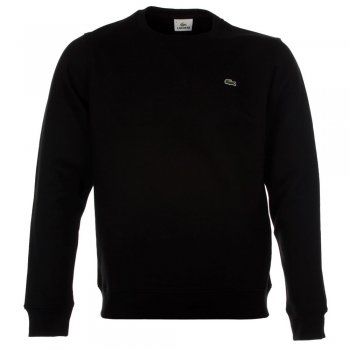 Lacoste Noir / Black (B25a) SH3205-031 Mens Sweatshirt