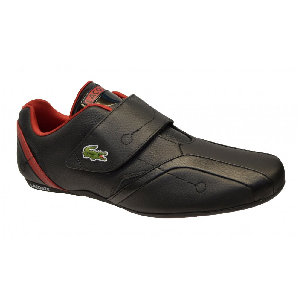 Lacoste Men's Shoes PROTECT - Trainers - black/dark red