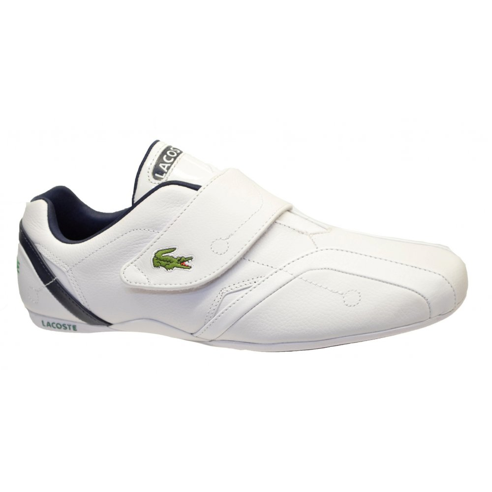 1188eed4468aaf Lacoste Lacoste Protect CRT SPM White   Dark Blue (SC-D2) Mens ...