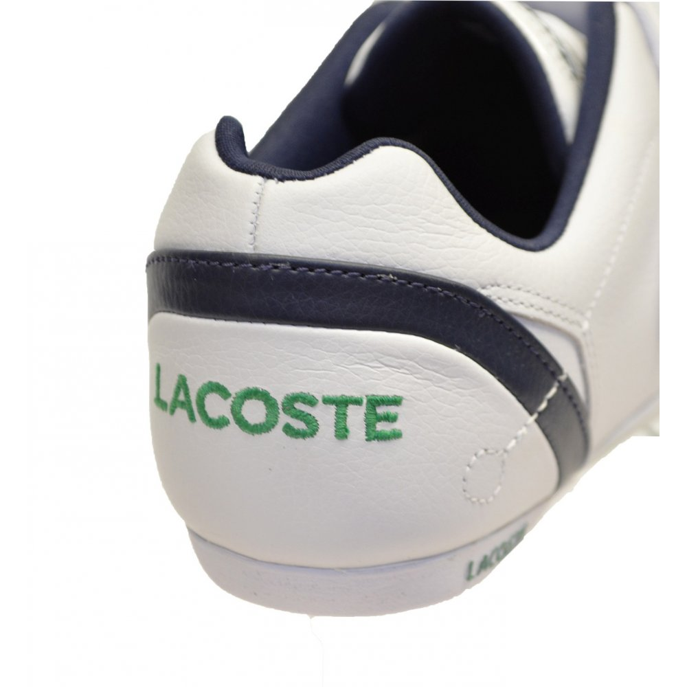1f53ed19d ... Lacoste Protect CRT SPM White   Dark Blue (SC-D2) Mens Trainers. ‹