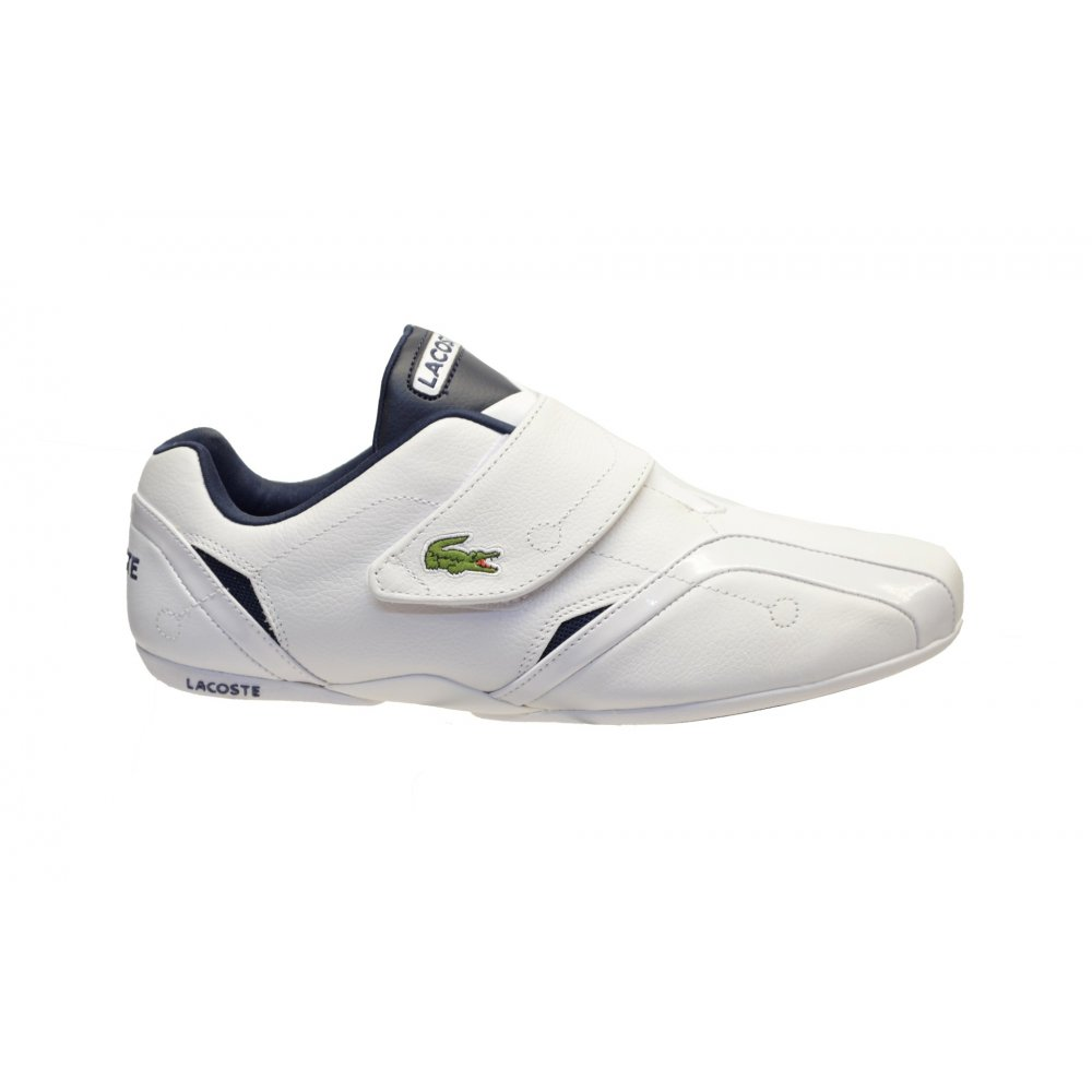 eedc46bac8f939 ... Lacoste Protect LCR SPM White   Dark Blue (N200) Mens Trainers. ‹