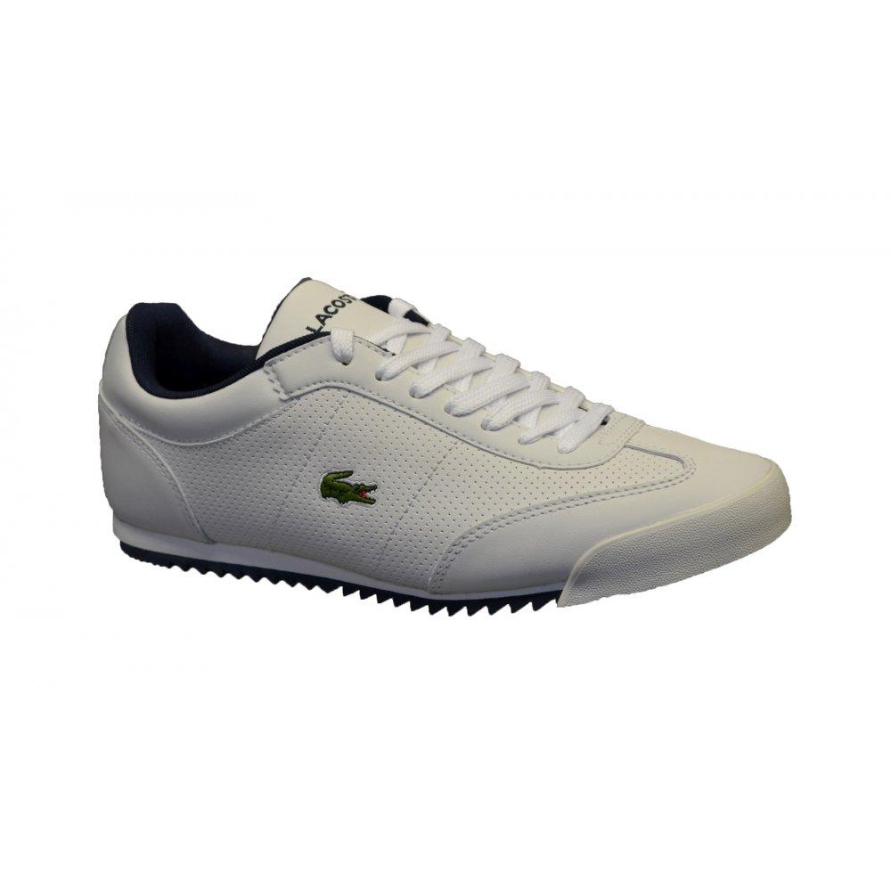 Lacoste Shoes Mens Romeau White