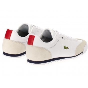 fdc31838f603f Lacoste Lacoste Romeau HTB SPM White   DK Blue (B14) Mens Trainers - Lacoste  from Pure Brands UK UK
