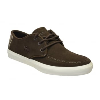 Lacoste Sevrin 316 1 CAM Suede Dark Brown (N95) 7-32CAM0086-176 Mens Trainers