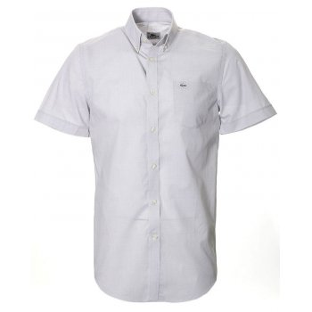 Lacoste Short Sleeve Light Grey (A15) CH8517-M47 Mens Shirts