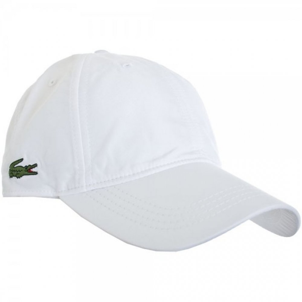 adacba8825a lacoste lacoste sport blanc white rk1402 001 mens caps lacoste from pure  brands uk uk