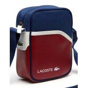 Lacoste Ultimum Chili Pepper Estate Blue / White (A50) NH0862UT-720 Camera / Man Bag