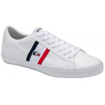 Lacoste Lerond White / Navy / Red (Z7) 7-39CMA0044407 Mens Trainers