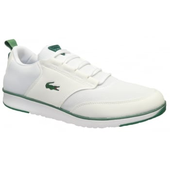 Lacoste Light 116 1 SPM White (C4) Mens Trainers All Sizes