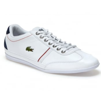 Lacoste Misano Sport 118 1 CAM White / Navy (N29) 7-35CAM0083-042 Mens Trainers