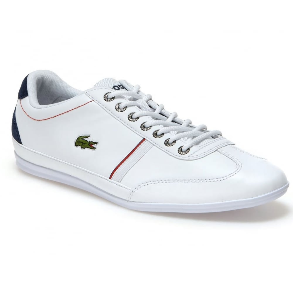 f11f84da4 Lacoste Misano Sport 118 1 CAM White   Navy (N29) 7-35CAM0083-042 Mens  Trainers
