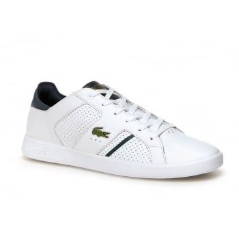 Lacoste Novas CT 118 1 SPM White / Dark Green (P2) Mens Trainers