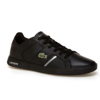 Lacoste Novas CT 118 2 SPM Black / Silver (N7) Mens Trainers