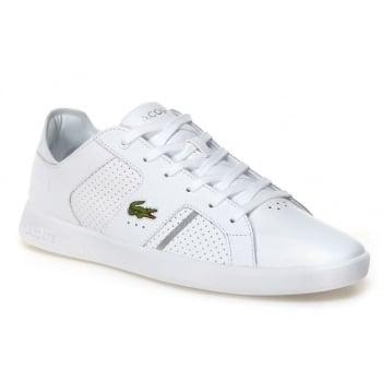 Lacoste Novas CT 118 2 SPM White / Silver (A6) Mens Trainers