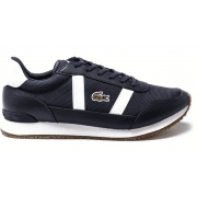 Lacoste Partner Navy / White (Z24) Textile / Leather Mens Trainers
