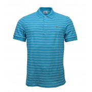 Lacoste PH9508-VCP Hawaien / Blanc (A18) Mens Stripe Polo All Sizes