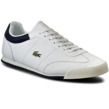 Lacoste Romeau 316 1 SPM Leather White (N23) 7-32SPM0036001 Mens Trainers