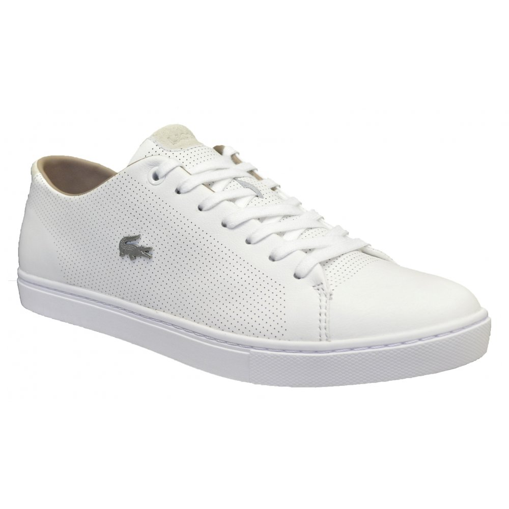 Lacoste Showcourt SRM Leather / Suede White (G29) Mens Trainers ...