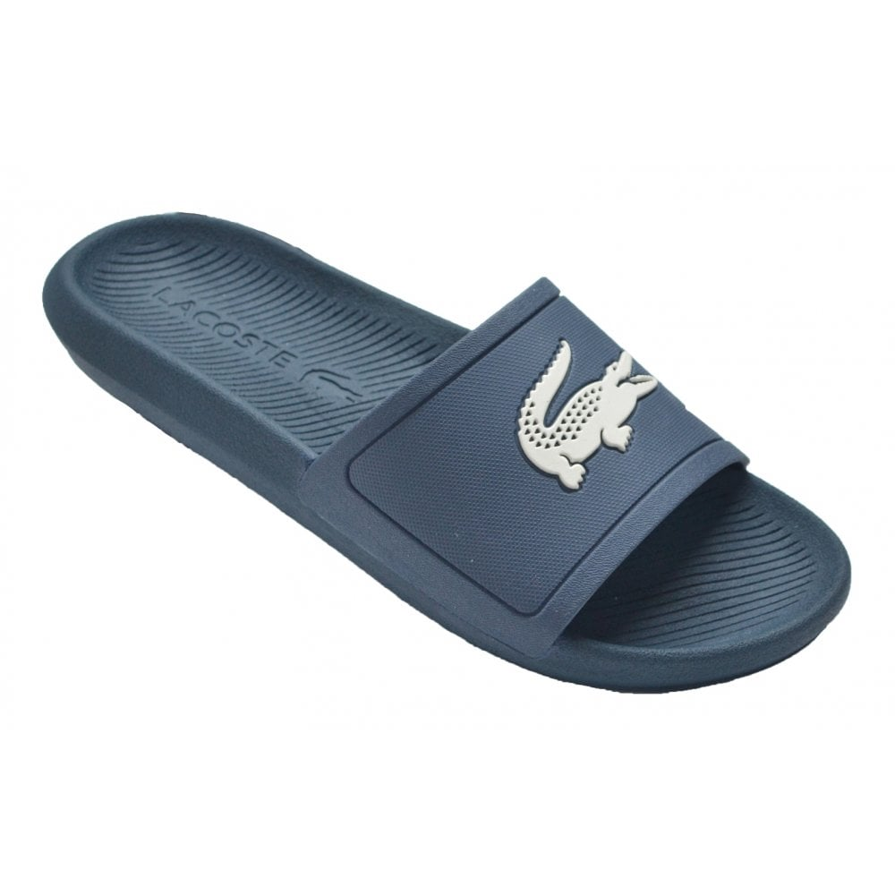 a129a7838 Lacoste Slide 219 1 CMA Blue   Off White (Z15) 7-37CMA00222M8 Mens Slide
