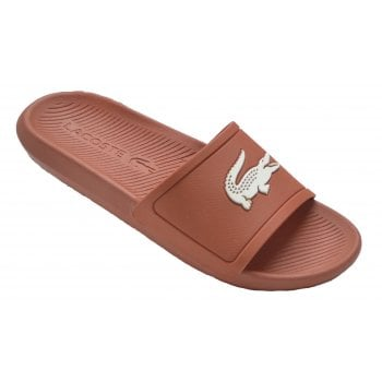 Lacoste Slide 219 1 CMA Red / Off White (U2) 7-37CMA0022262 Mens Slide