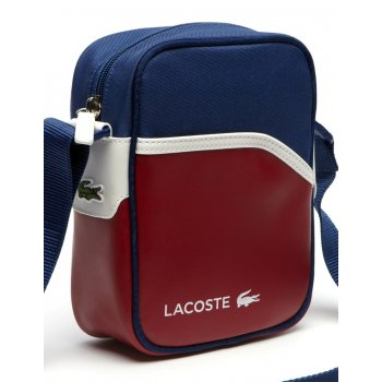 Lacoste Ultimum Chili Pepper Estate Blue / White (A50) NH0862UT-720 Camera / Man Bag