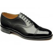 Loake 201B Brogue Black (Opp-c) Mens Shoes