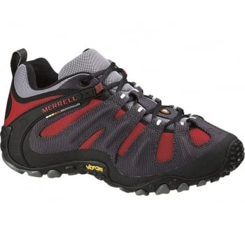 Merrell Chameleon Wrap Slam Charcoal / Red (SC-D3 /Z6) J86269 Mens Trainers