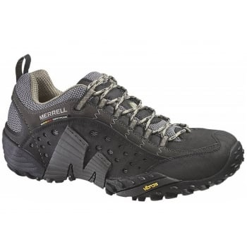 Merrell Intercept Smooth Black (GD1) J73703 Mens Trainers