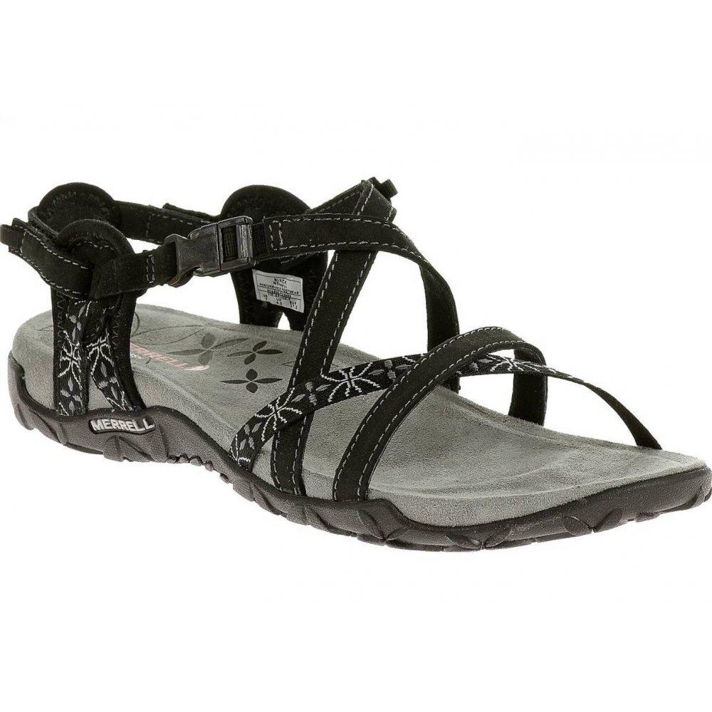 Merrell Terran Lattice Black (Z25) J22234 Ladies Sandal ...