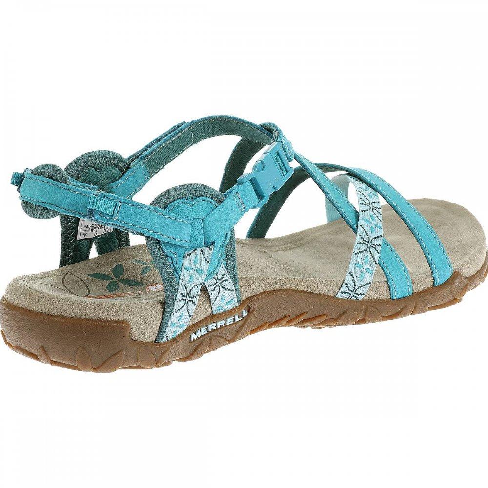b5bc77553b31 ... Merrell Terran Lattice Turquoise Blue (Z2) J22230 Ladies Sandal ...