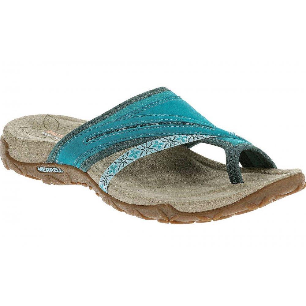 Merrell Terran Post Algiers Blue (B14) J21810 Ladies Sandal ...