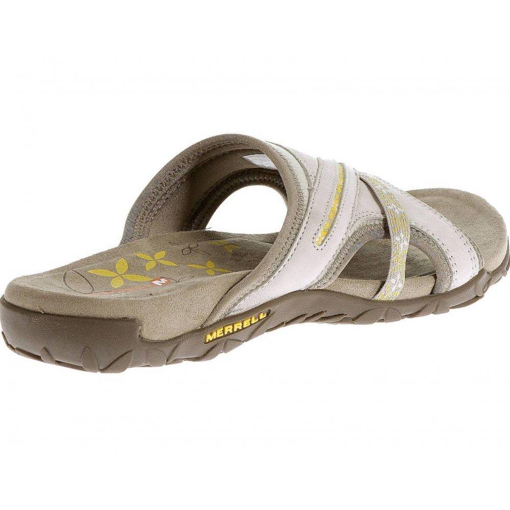 886a0b6290f ... Merrell Terran Slide Silver Lining (B21) J22178 Ladies Sandal ...