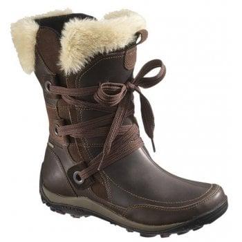 Merrell Nikita Waterproof Bitter Chocolate (X1) Womens Boots