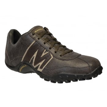 Merrell Sprint Blast Leather Dark Chocolate (Z26) J559489 Mens Trainers