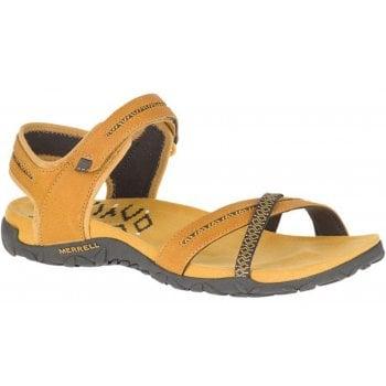Merrell Terran Cross II Gold (N62) J001070 Ladies Sandal