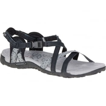 Merrell Terran Lattice II Black (N53) J55318 Ladies Sandal
